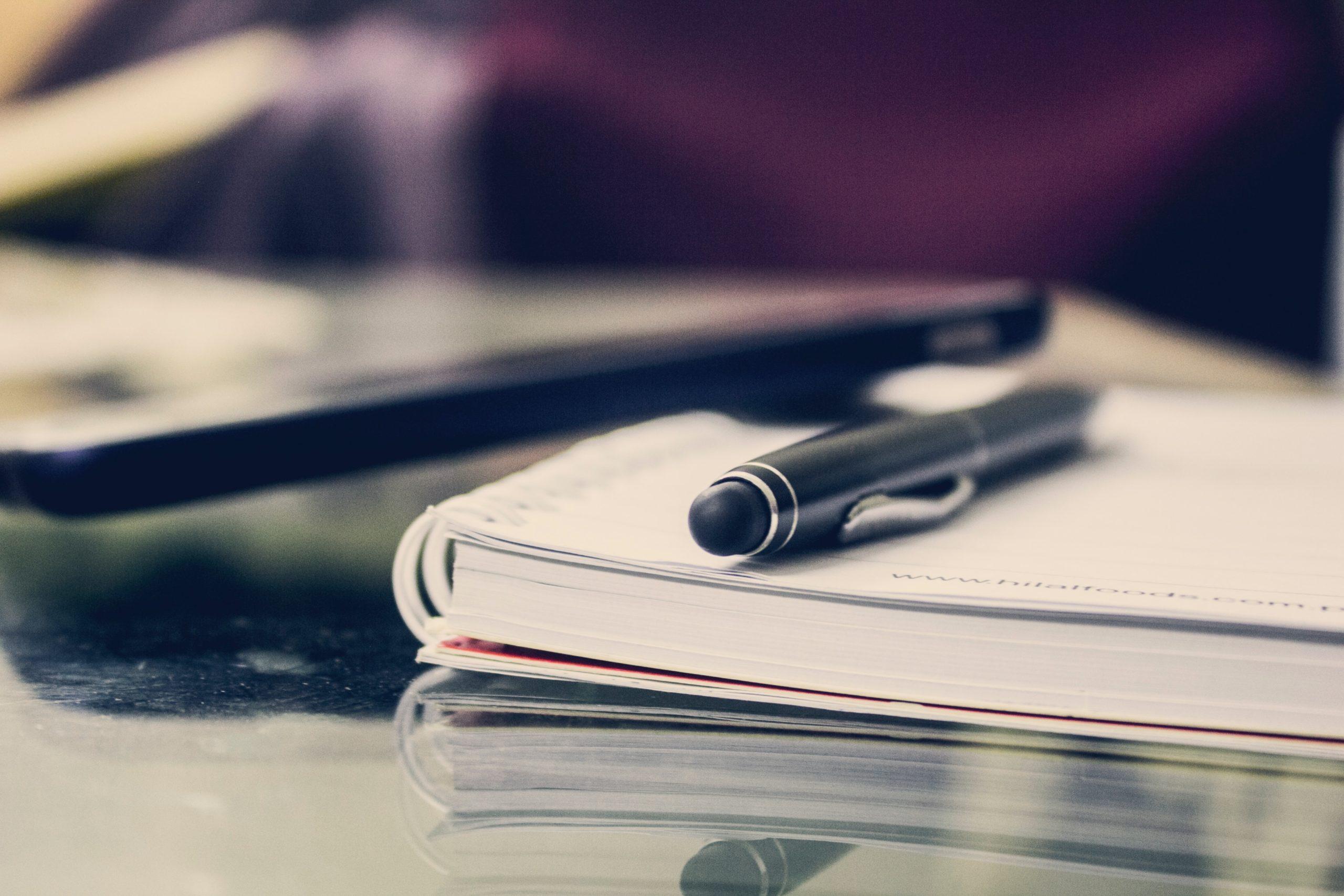 企業目線で転職活動をするためにキャリアをノートにまとめる