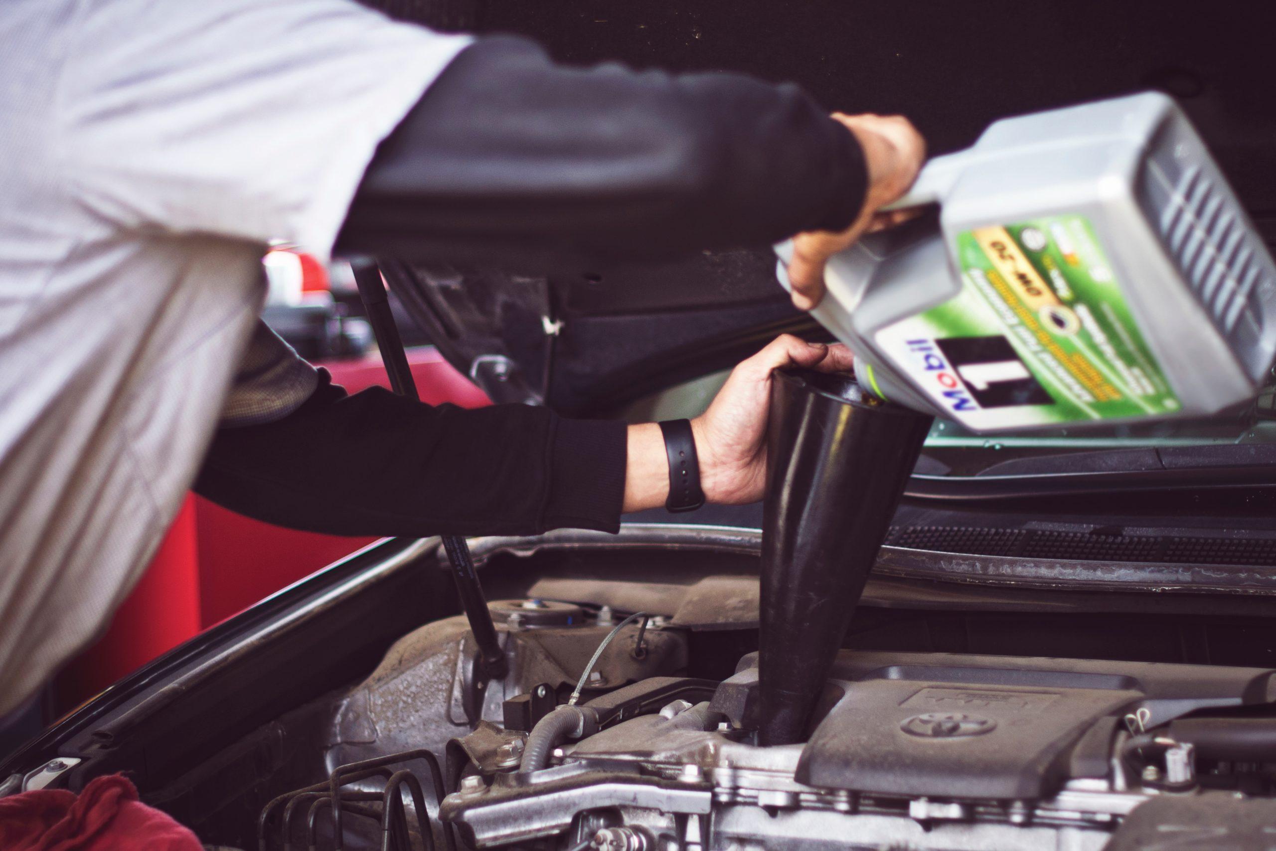 自動車整備士として転職を成功させた男性